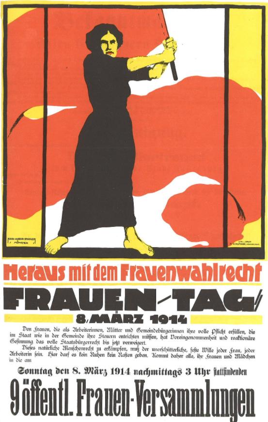 Međunarodni dan žena, Karl Maria Stadler (1888 – nach 1943) - Skenirano iz stare knjige