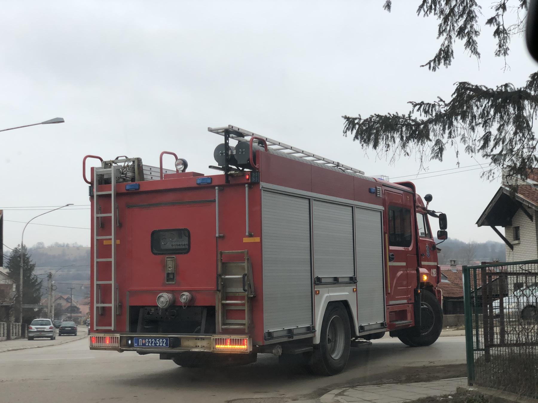 Vatrogasni kamion, foto: Redakcija portala ,,Knjaževačke novine''