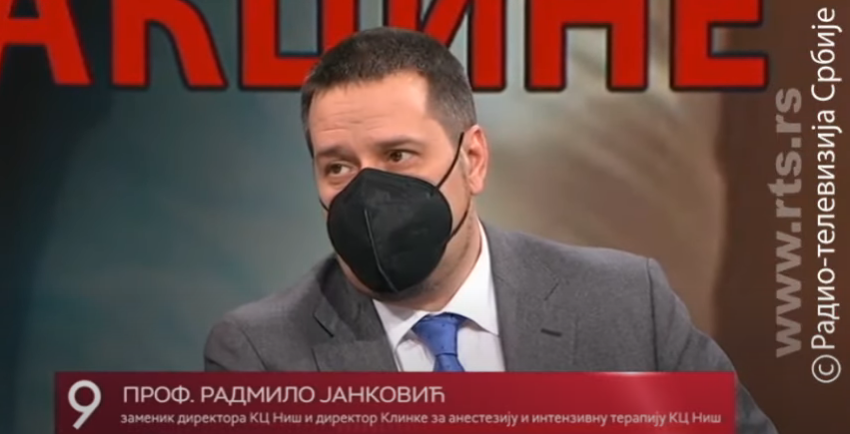 Radmilo Janković, foto: RTS, Youtube