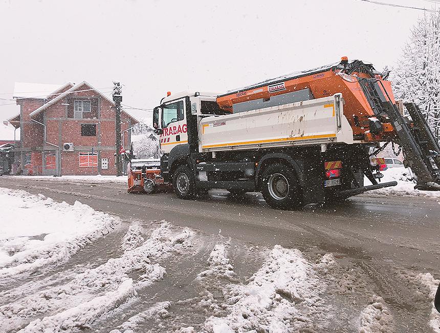 Ilustracija, sneg, foto: Knjaževačke novine