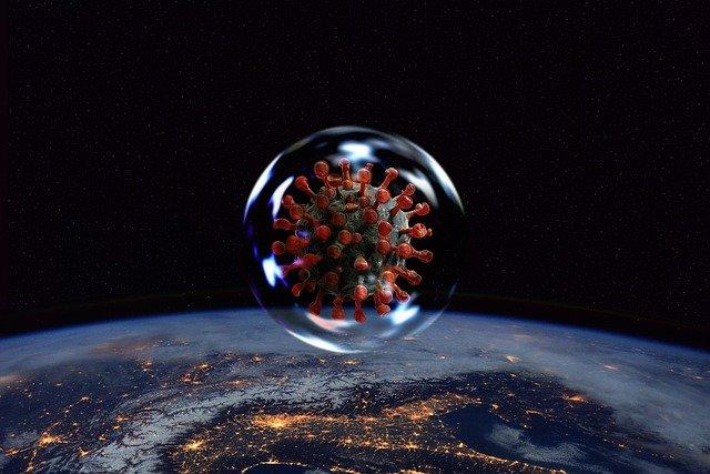 Koronavirus, ilustracija, pixabay