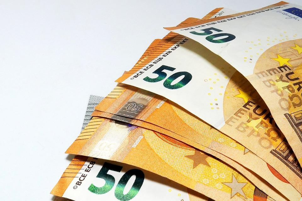 Euro, foto: Pixabay.com