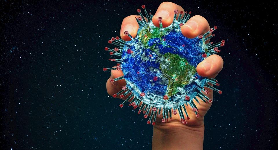 Ilustraicja, COVID-19, virus, foto: Lothar Dieterich, pixabay